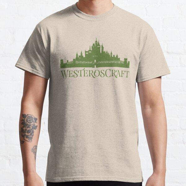 WesterosCraft Rose Garden Maze Castle Classic T-Shirt