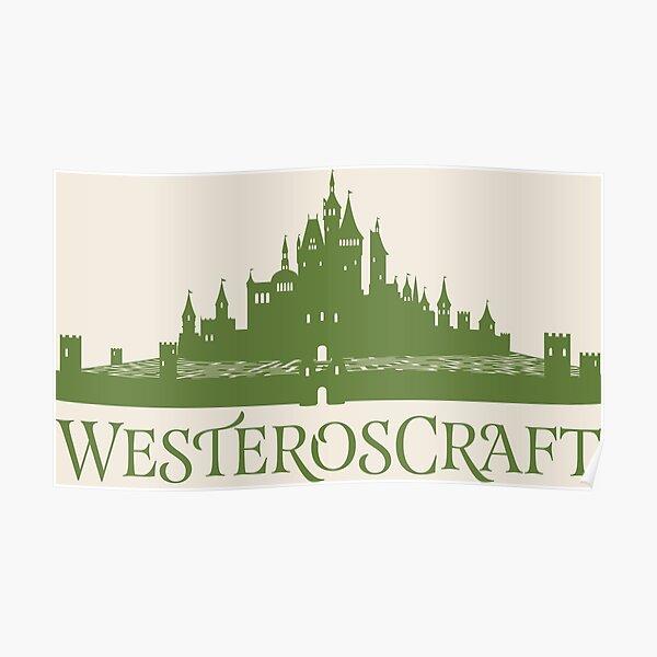 WesterosCraft Rose Garden Maze Castle Poster