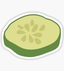 Cucumber Slice Sticker Sticker