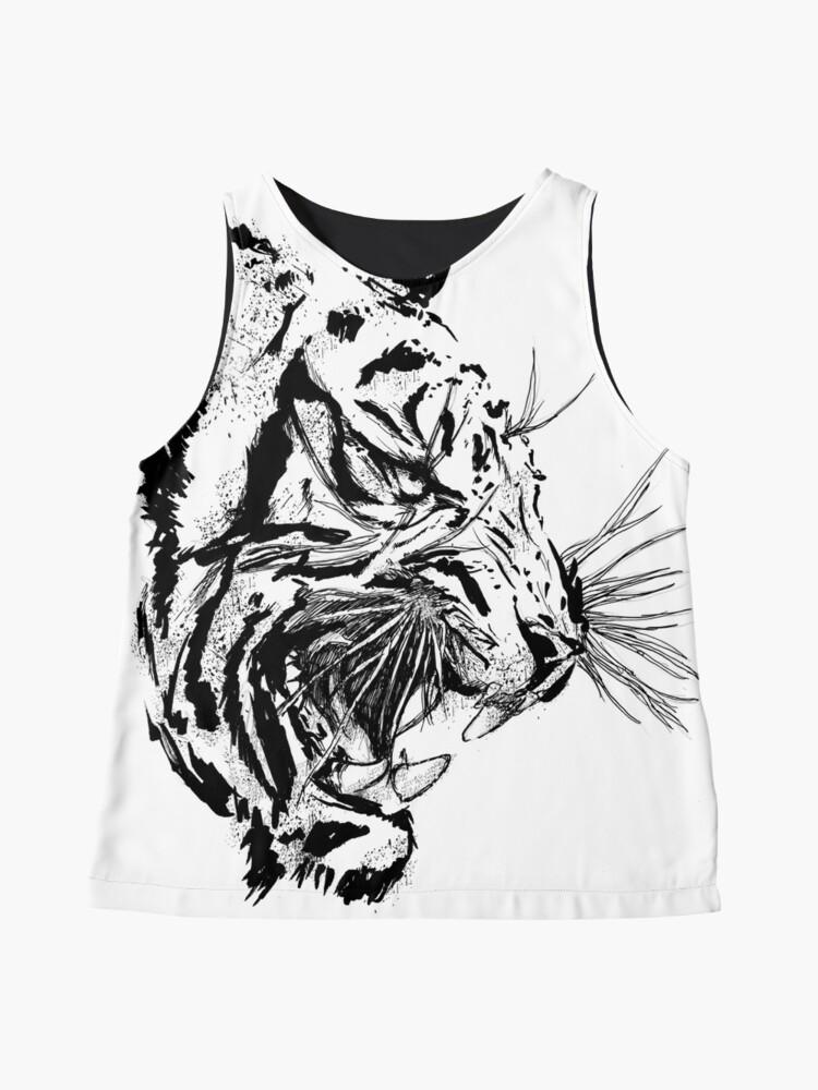 Vista alternativa de Blusa sin mangas Tiger Soul