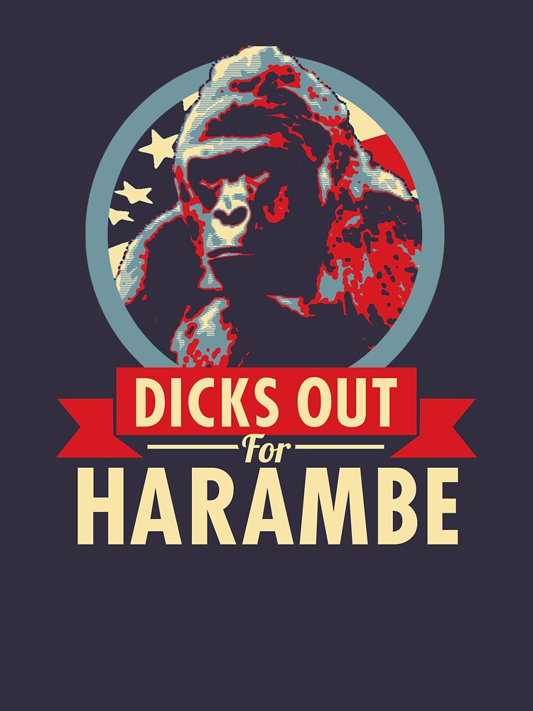 Hail to the Chimp (Dicks out for Harambe) | Unisex T-Shirt