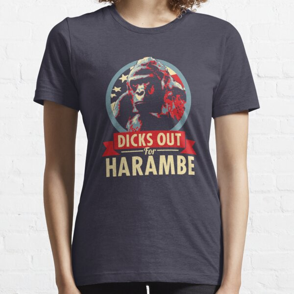 Hail to the Chimp (Dicks out for Harambe) Essential T-Shirt