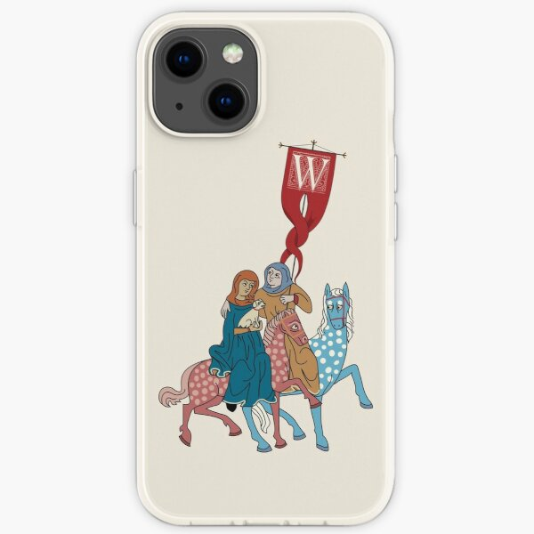 WesterosCraft Rookery Horse Riders and Banner Illustration iPhone Soft Case