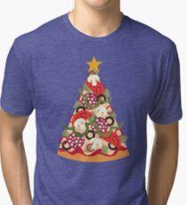 Pizza on Earth - Pepperoni Tri-blend T-Shirt