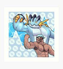 Aqua Team Bara Force Art Print