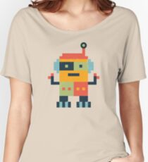 Happy Robot Women's Relaxed Fit T-Shirt