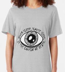 Never Sleep Eye Slim Fit T-Shirt