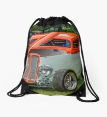 1933 Pontiac sedan street rod Drawstring Bag