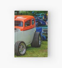 1933 Pontiac sedan street rod Hardcover Journal
