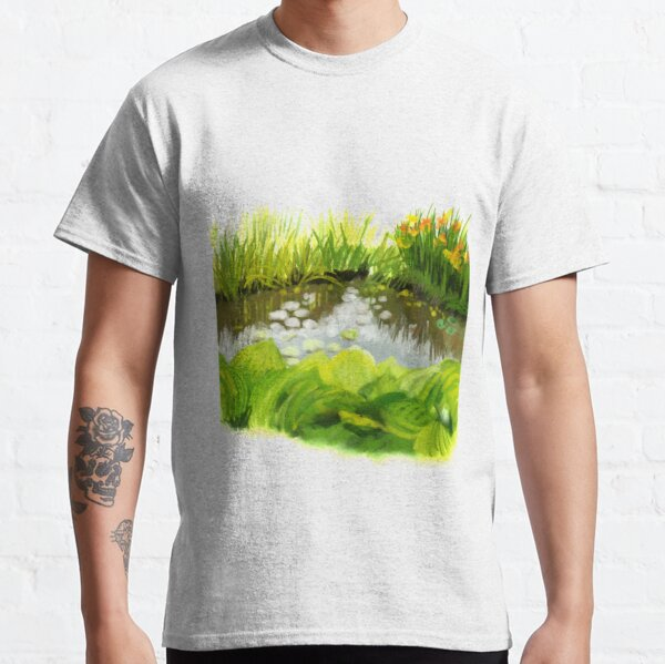 By the pond Classic T-Shirt