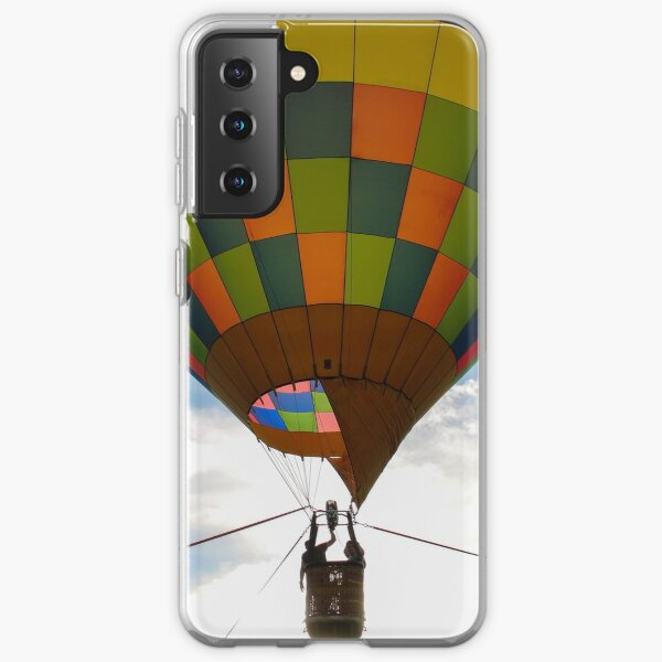 Bright and colorful hot air balloon Samsung Galaxy Soft Case