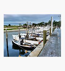 Rock Harbor, Orleans, MA Photographic Print