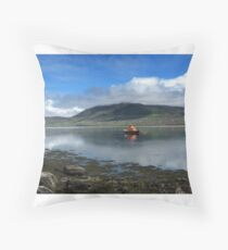 Achill Lifeboat Throw Pillow