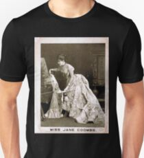 Performing Arts Posters Miss Jane Coombs 1814 T-Shirt