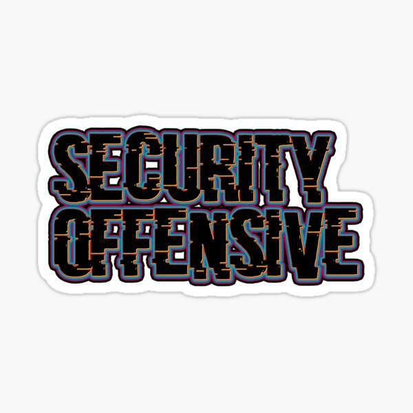 Security Offensive Sticker