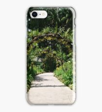 Orchids on Arches iPhone Case/Skin