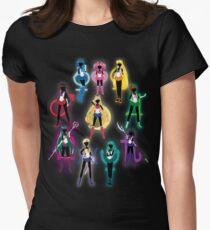 Sailor Senshi Women's Fitted T-Shirt