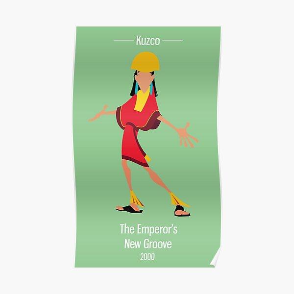 Kuzco Illustration Poster