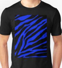 blauer Zebra Unisex T-Shirt