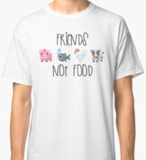 Friends Not Food Classic T-Shirt