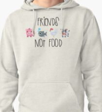 Friends Not Food Pullover Hoodie