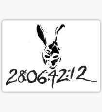 DONNIE DARKO - 28:06:42:12 Sticker