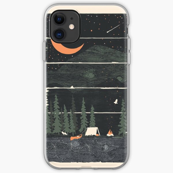 Wish I Was Camping... iPhone Soft Case