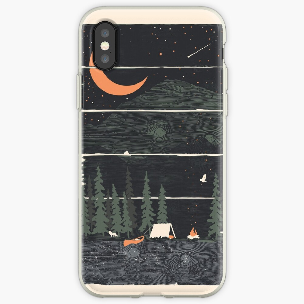 Wish I Was Camping... iPhone Case & Cover
