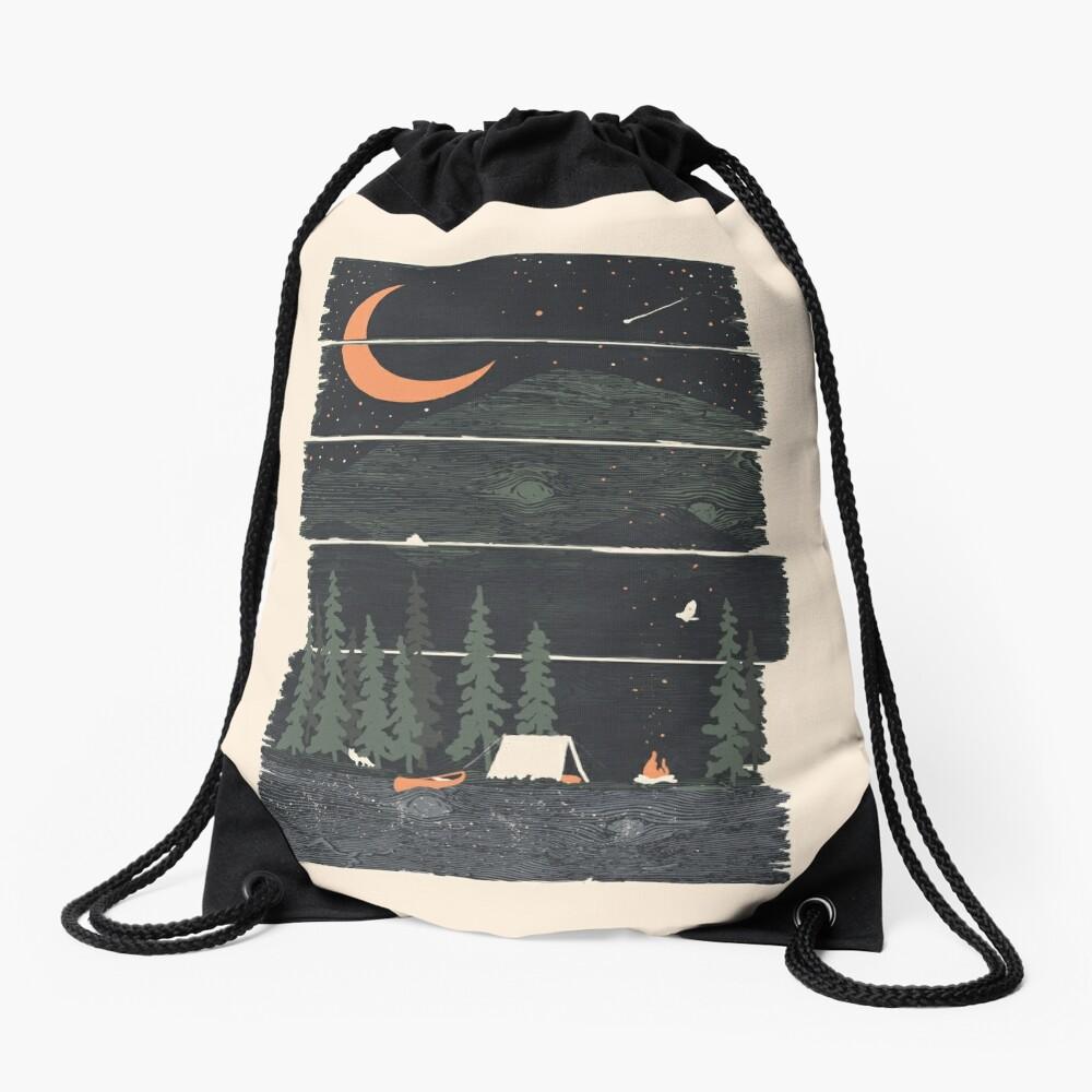 Wish I Was Camping... Drawstring Bag