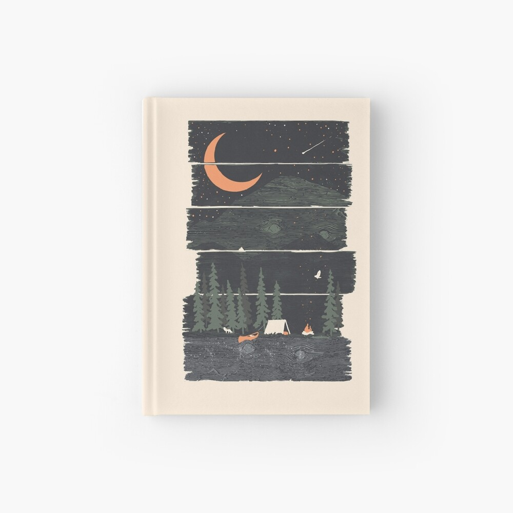 Wish I Was Camping... Hardcover Journal