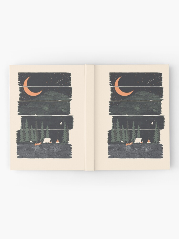 Alternate view of Wish I Was Camping... Hardcover Journal