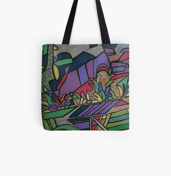 Urban Culture - Botanic Life All Over Print Tote Bag