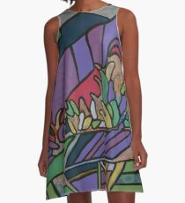 Urban Culture - Botanic Life A-Line Dress