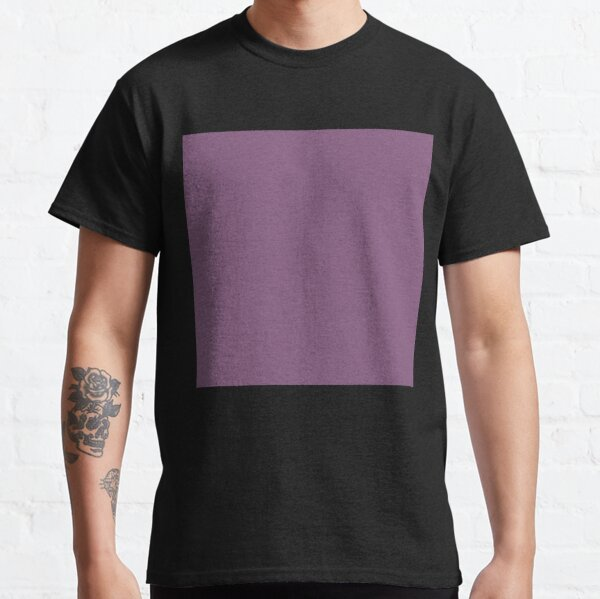 Dull purple color || Plain purple color shade by ADDUP. Classic T-Shirt