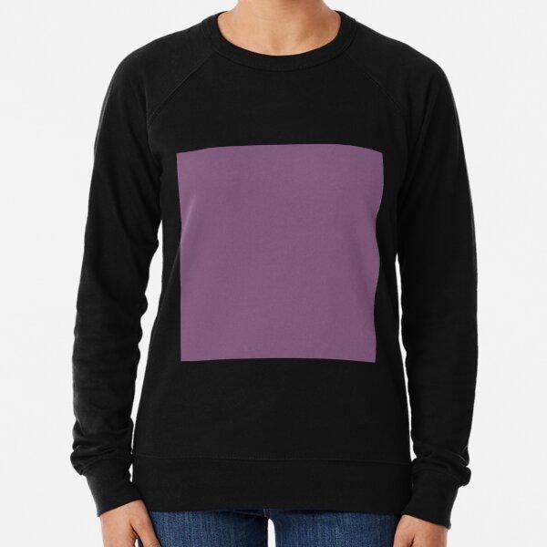 Dull purple color || Plain purple color shade by ADDUP. Lightweight Sweatshirt