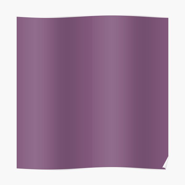 Dull purple color    Plain purple color shade by ADDUP. Poster
