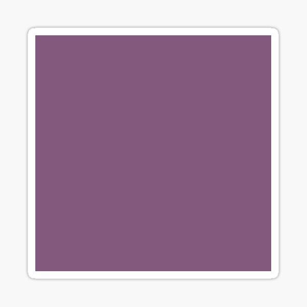 Dull purple color    Plain purple color shade by ADDUP. Sticker