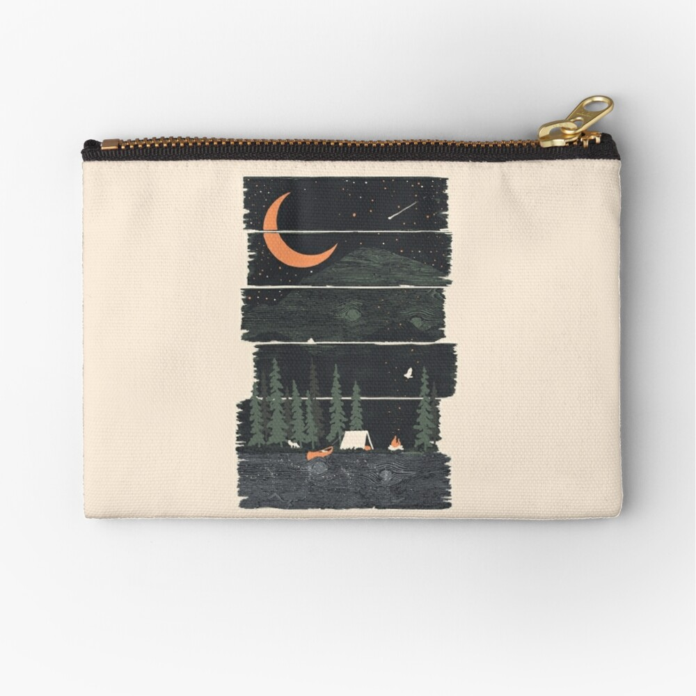 Wish I Was Camping... Zipper Pouch