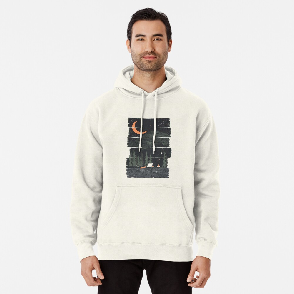 Wish I Was Camping... Pullover Hoodie