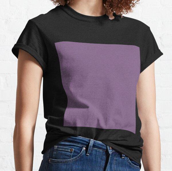 Dusty purple color || Plain purple color shade by ADDUP. Classic T-Shirt