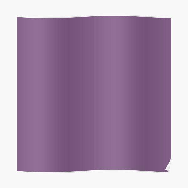 Dusty purple color    Plain purple color shade by ADDUP. Poster