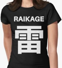 Kage Squad Jersey: Raikage Women's Fitted T-Shirt