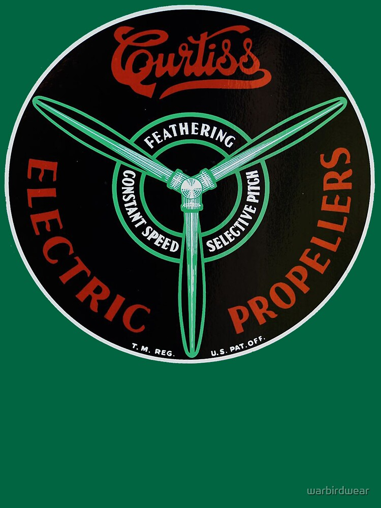 Curtiss Propeller Logo Repro | Unisex T-Shirt