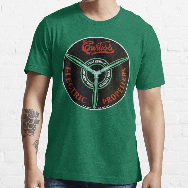 Curtiss Propeller Logo Repro Essential T-Shirt