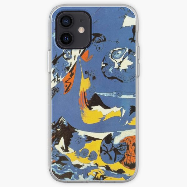 Blue (Moby Dick), 1943 by Jackson Pollock iPhone Soft Case