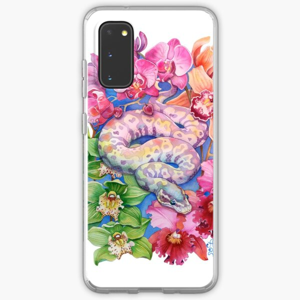 """""""Year of the Snake"""" - Chinese Zodiac Watercolour  Samsung Galaxy Soft Case"""