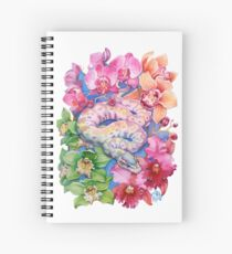 """""""Year of the Snake"""" - Chinese Zodiac Watercolour  Spiral Notebook"""