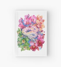 """""""Year of the Snake"""" - Chinese Zodiac Watercolour  Hardcover Journal"""