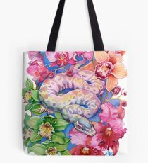 """Year of the Snake"" - Chinese Zodiac Watercolour  Tote Bag"