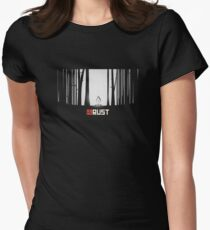 Rust Game Artwork Women's Fitted T-Shirt